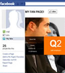 We create Facebook Fan page